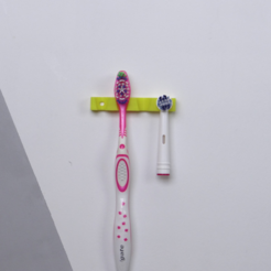 Download free 3D printing files Simple toothbrush holder - Useful 3D prints: #1 Bathroom, NikodemBartnik