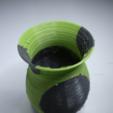 Descargar diseños 3D gratis Jarrón bicolor, NikodemBartnik