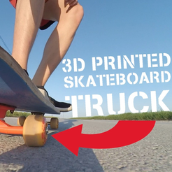 Download free 3D printing designs Skateboard truck, NikodemBartnik