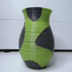 Capture d'écran 2018-04-30 à 13.41.38.png Download free STL file Dual color vase • 3D printable design, NikodemBartnik