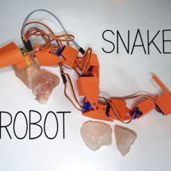 Free 3D printer model Snake robot, NikodemBartnik