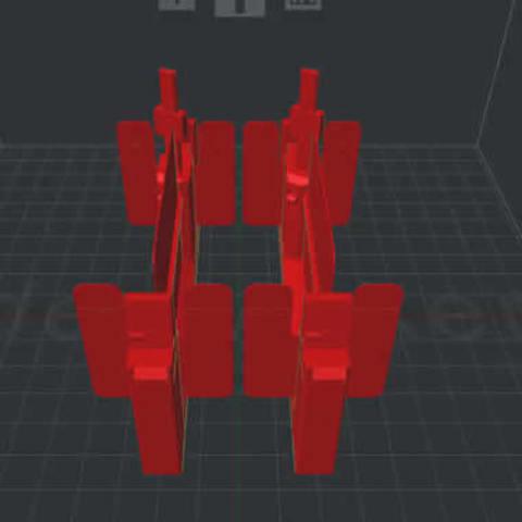 3D printing model Turnstile gate, ckbean