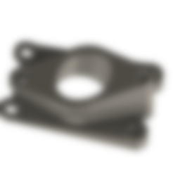 Download 3D printing models Intake pipe AM6 39.6° 39.6°, MAX3D
