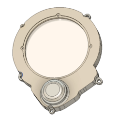 Download STL file AM6 ignition cover with starter • Design to 3D print, MAX3D