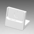 Download free STL file Dock iPhone 6S + Watch • 3D printing design, Allezlom