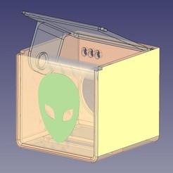 3D printer files Toilet paper dispenser / Holder toilet, plopjlf