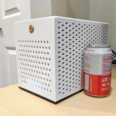Descargar STL gratis Caja para PC Mini-ITX SFF de 6.6L y 7.8L, lightofhonor