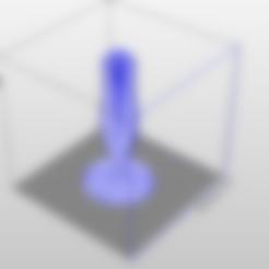EnregistrementAuto_plug.stl Download STL file Anal plug • 3D printing template, FranBE