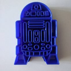 3D printing model R2D2 Cookie Cutter, Platridi