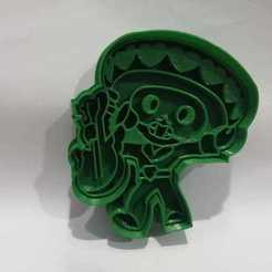 Brawlstar Poco (foto 1).jpg Télécharger fichier STL Brawl Stars moule à biscuits Little • Objet imprimable en 3D, Platridi