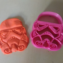 Download free STL file Stormtrooper Cookie Cutter, Platridi