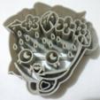 Download free 3D printer designs shopkins strawberry cookie cutter, Platridi