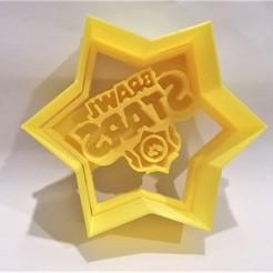 BrawlStar foto 1.jpg Télécharger fichier STL L'emporte-pièce du logo des Brawl Stars • Modèle à imprimer en 3D, Platridi