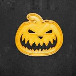 Jack O´Lanterin.jpeg Télécharger fichier STL Lanterne Jack O Coupe-biscuits d'Halloween • Plan imprimable en 3D, Platridi