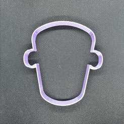 Frankenstein.jpeg Télécharger fichier STL Set de découpe de biscuits d'Halloween • Plan imprimable en 3D, Platridi