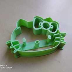 hello kittie.jpg Télécharger fichier GCODE L'emporte-pièce Hello Kitty • Modèle pour imprimante 3D, Platridi
