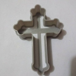 Download free STL files Cross Cookie cutter, Platridi