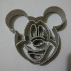 Download STL file Mickey Mouse Cookie cutter • 3D printing template, Platridi