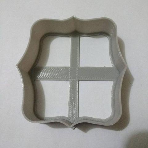 Télécharger modèle 3D gratuit Coupe-biscuit cadre, Platridi