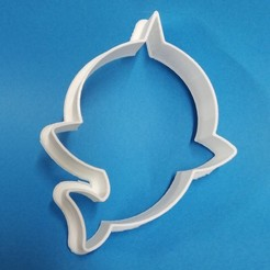 IMG_20200312_132601 (2).jpg Download STL file baby shark silhouette cookie cutter • 3D print template, Platridi