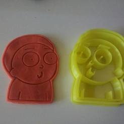 Download 3D printer model Morty Cookie Cutter, Platridi
