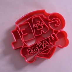 Download 3D printer designs Cookie cutter paw patrol, Platridi
