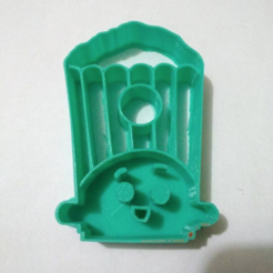 diseños 3d gratis Shopkings pop corn cortador de galletas, Platridi