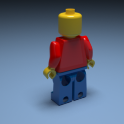 Download free 3D printing designs Lego, FranciscoJosAldabaldeArce
