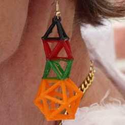 Télécharger objet 3D gratuit Boucle d'oreille Derrick #ANYCUBIC3D, HB52