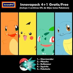Download 3D model Innovapack Pokémon, InnovaPro