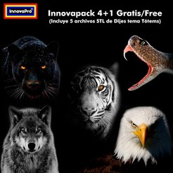 Download STL file Innovapack Totem, InnovaPro