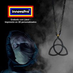 Dark1.jpg Download STL file Dark Symbol Pendant (The Series) • 3D printing design, InnovaPro