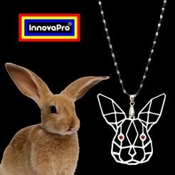 Imprimir en 3D Totem de Conejo, InnovaPro