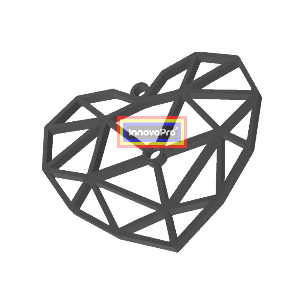 """CorazónF2.jpg Télécharger fichier STL gratuit J'ai dit : """"Cœur. • Plan pour impression 3D, InnovaPro"""