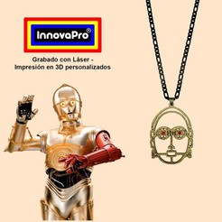 C3POF1.jpg Download STL file I said C-3PO (Star Wars) • Model to 3D print, InnovaPro