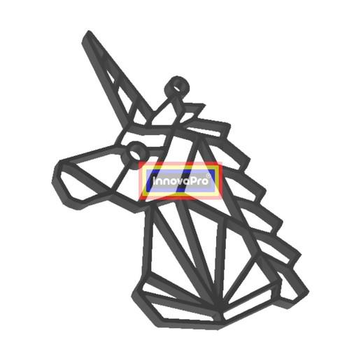 UnicornioF2.jpg Télécharger fichier STL gratuit Pendentif de licorne • Modèle imprimable en 3D, InnovaPro