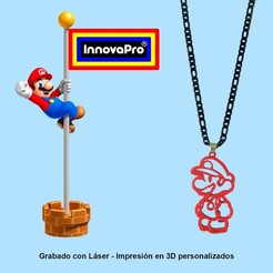 MarioF1.jpg Download STL file I said Mario Bros. • 3D printing model, InnovaPro