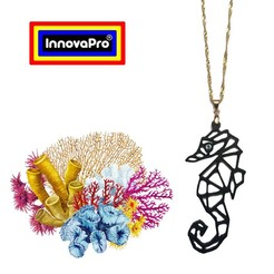 Download 3D printer designs Seahorse Totem, InnovaPro