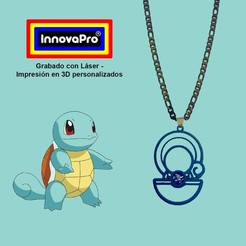 SquirtleF1.jpg Download STL file Squirtle's Pledge • 3D printer object, InnovaPro