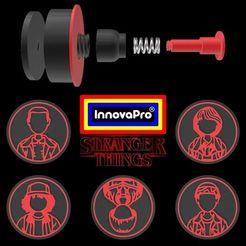 ST1.jpg Télécharger fichier STL Choses étranges • Design pour imprimante 3D, InnovaPro