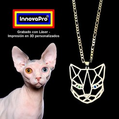 Gato1.jpg Download STL file Cat's Pie • 3D printing template, InnovaPro