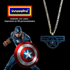 CapitanF.jpg Download STL file I said Captain America • 3D print model, InnovaPro