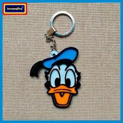 1.jpg Download STL file Donald Duck Keychain 1/4 • 3D printer model, InnovaPro