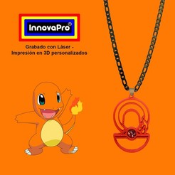 CharmanderF1.jpg Download STL file I said Charmander • 3D printing design, InnovaPro