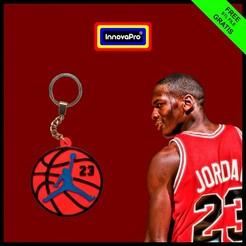 Jordan F1.jpg Download free STL file Michael Jordan Keychain • 3D printable template, InnovaPro