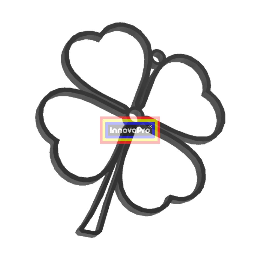 TrebolF2.jpg Télécharger fichier STL gratuit Pendentif en trèfle • Plan pour impression 3D, InnovaPro