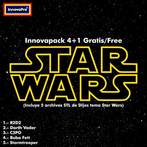 Download STL files Innovapack Star Wars, InnovaPro