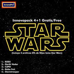 Innovapacks Star Wars.jpg Download STL file Innovapack Star Wars • 3D printer model, InnovaPro