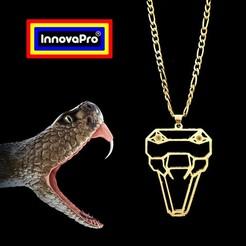 Descargar archivo 3D Totem de Serpiente, InnovaPro