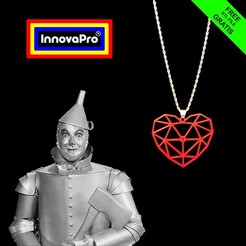 "Download free 3D printer model I said, ""Heart., InnovaPro"